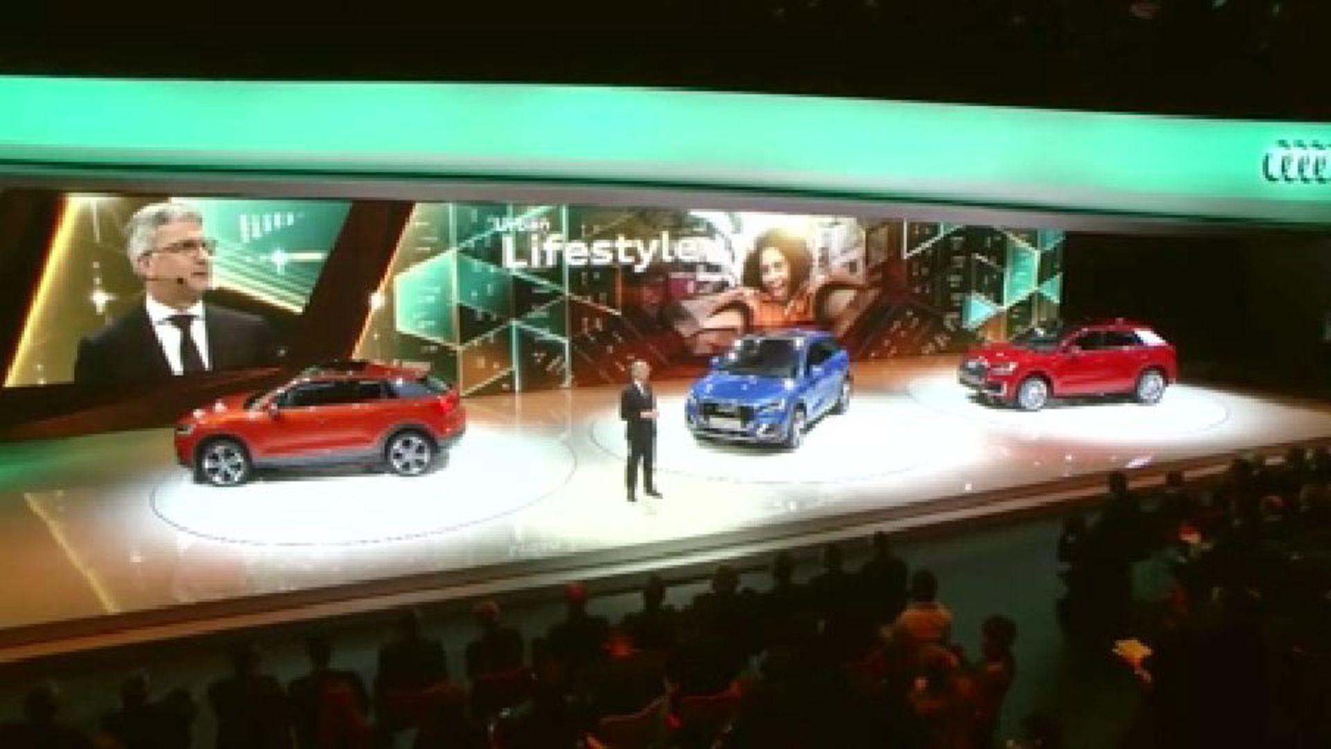 Audi at the Geneva Motor Show