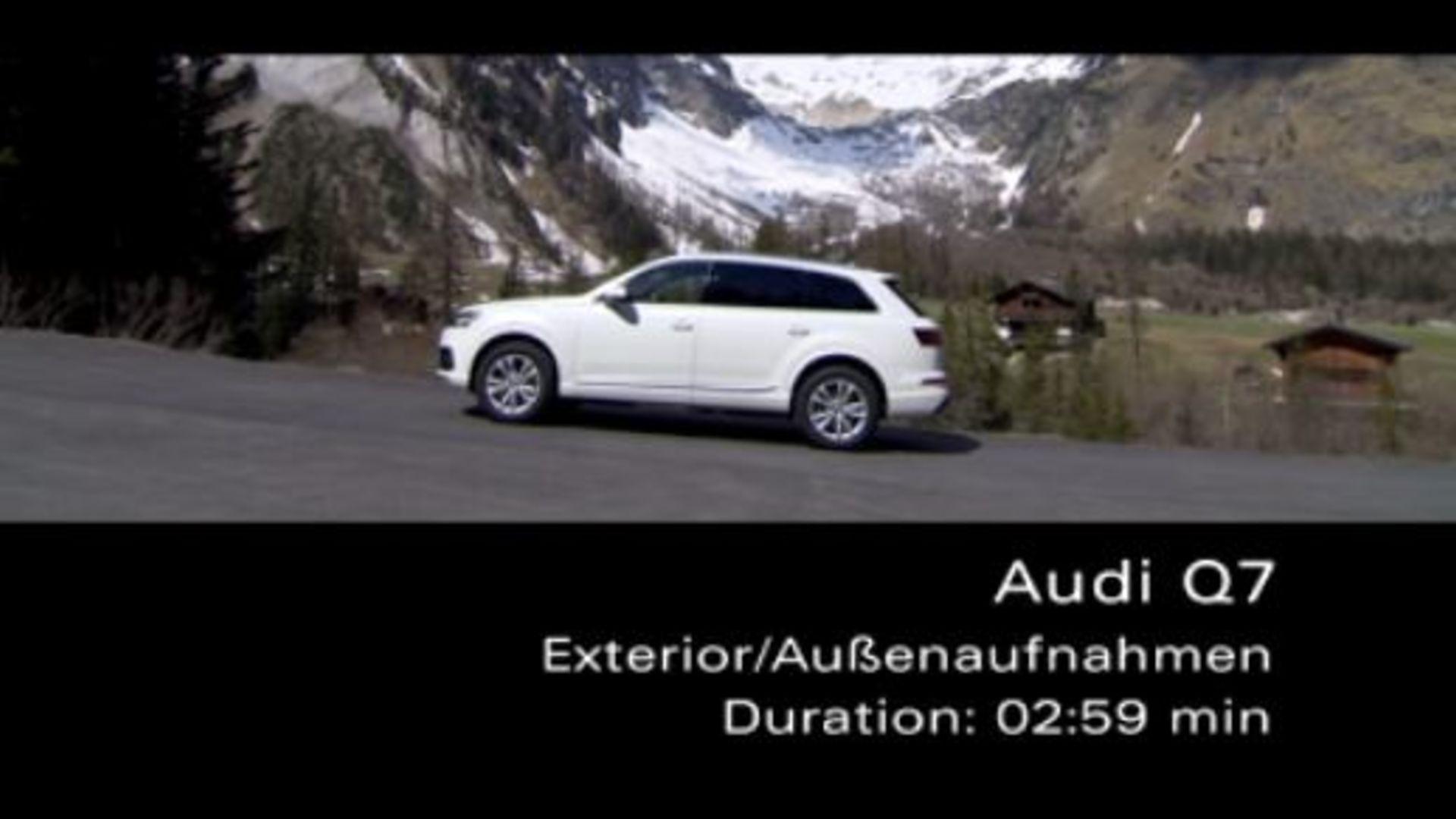 Audi Q7 - Footage Exterior