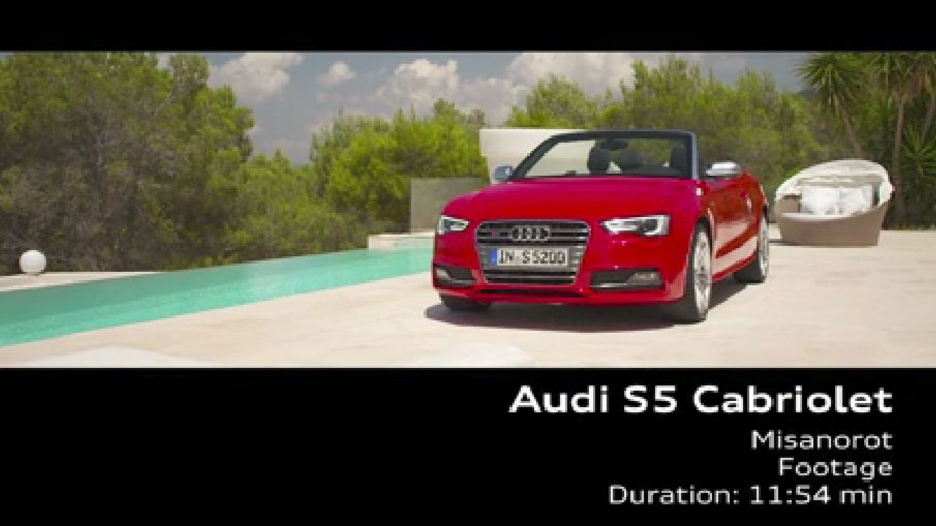 Audi S5 Cabriolet - Footage
