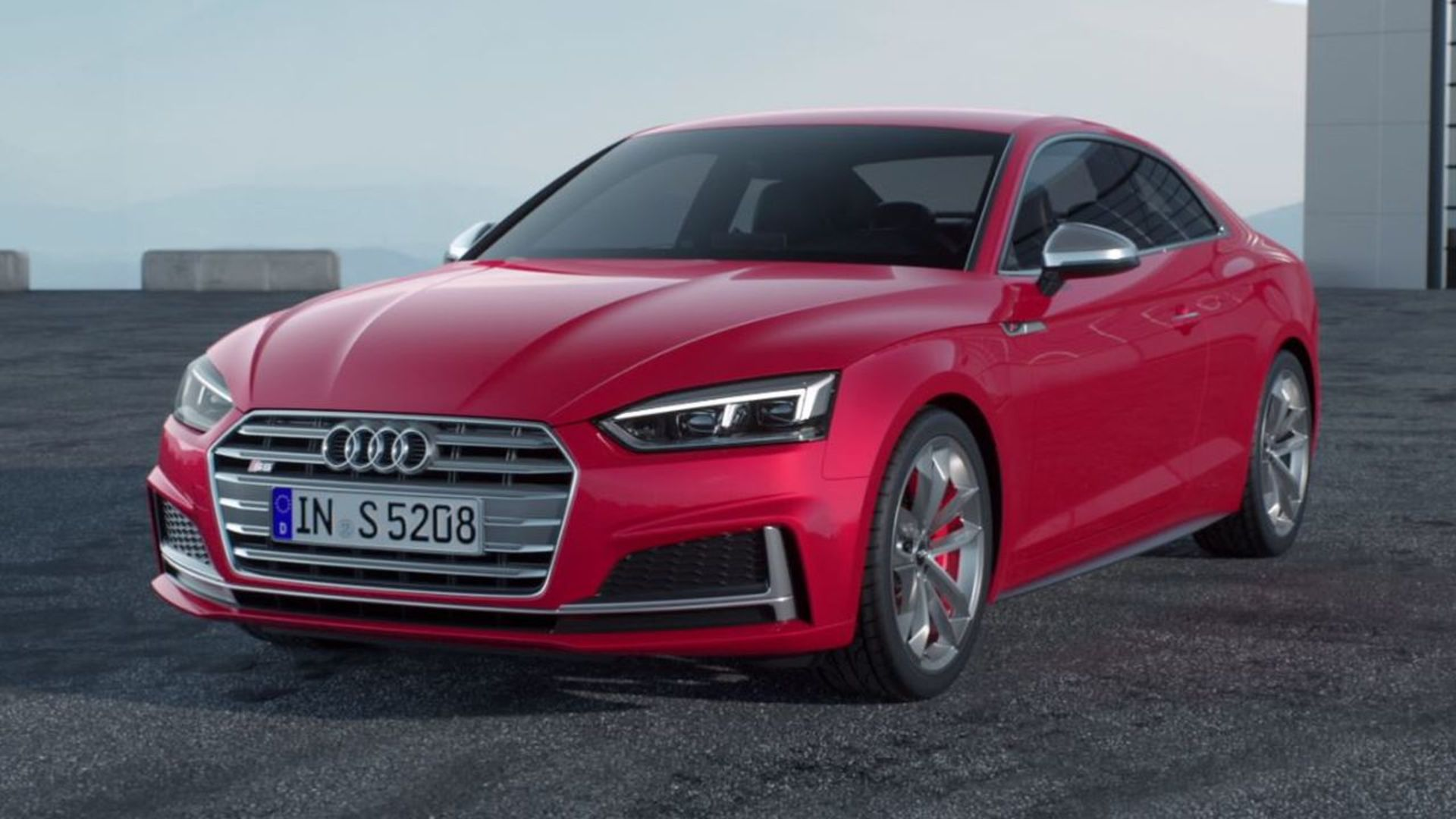 Audi S5 Coupé – Animation 3.0 TFSI, Antriebsstrang