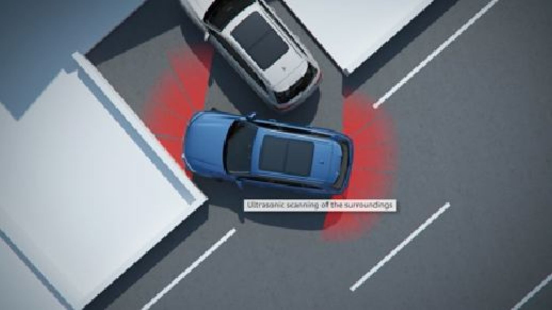 Audi Q7 - Animation park assist