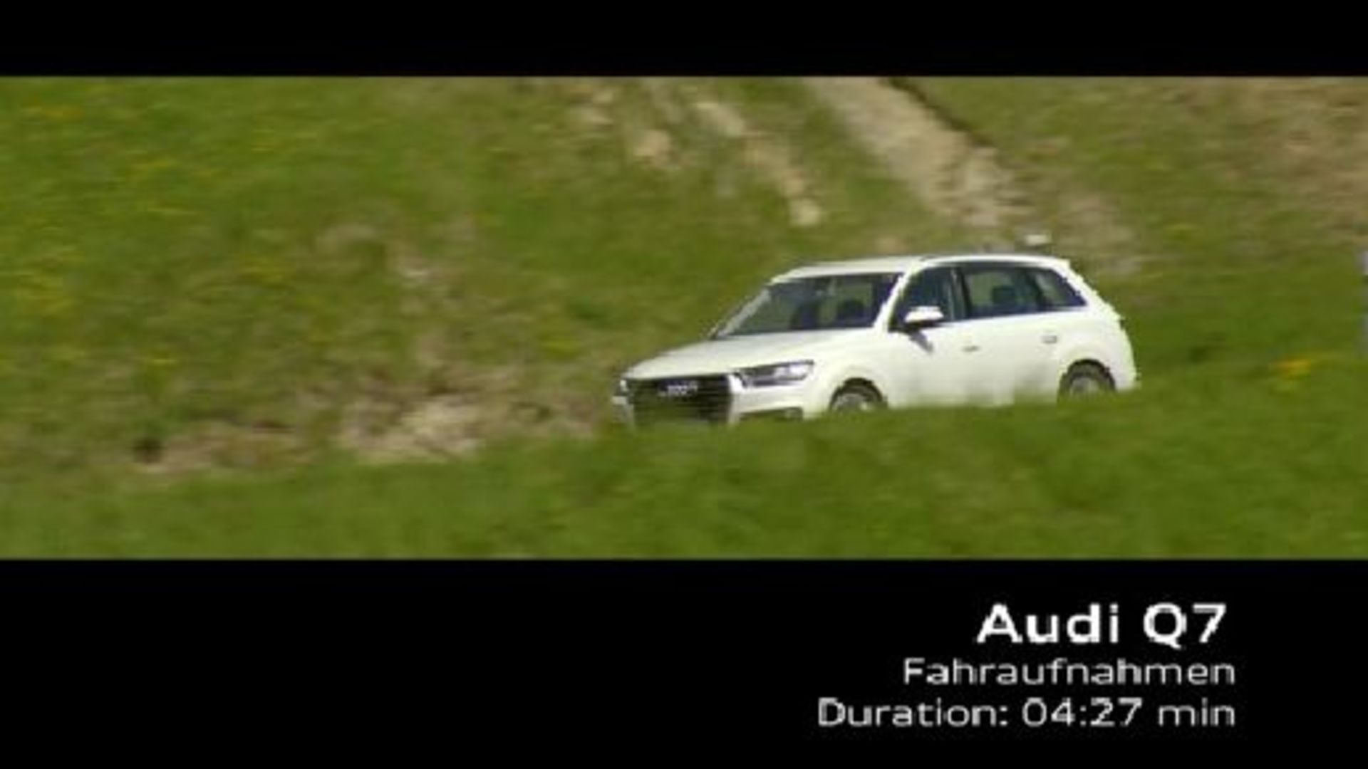 Audi Q7 Driving Shots - Footage