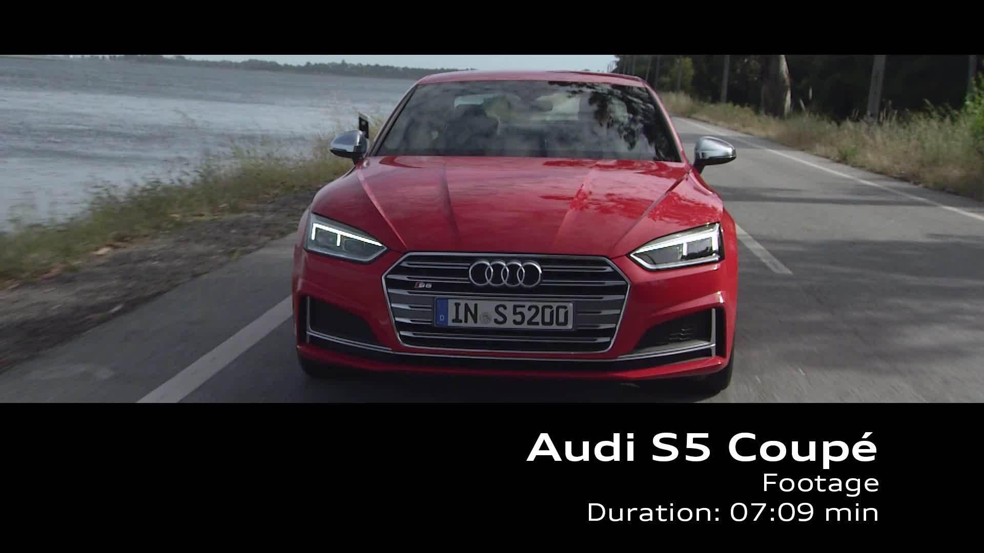 Audi S5 Coupé – Footage on Location