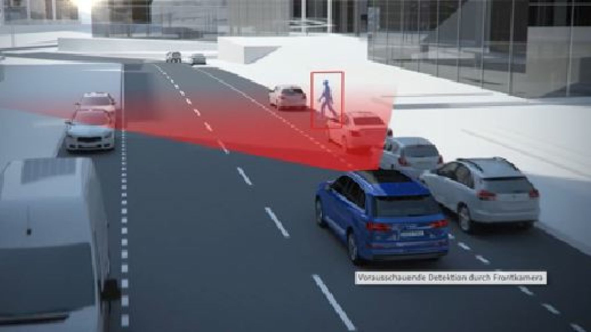 Audi Q7 - Animation pre sense city