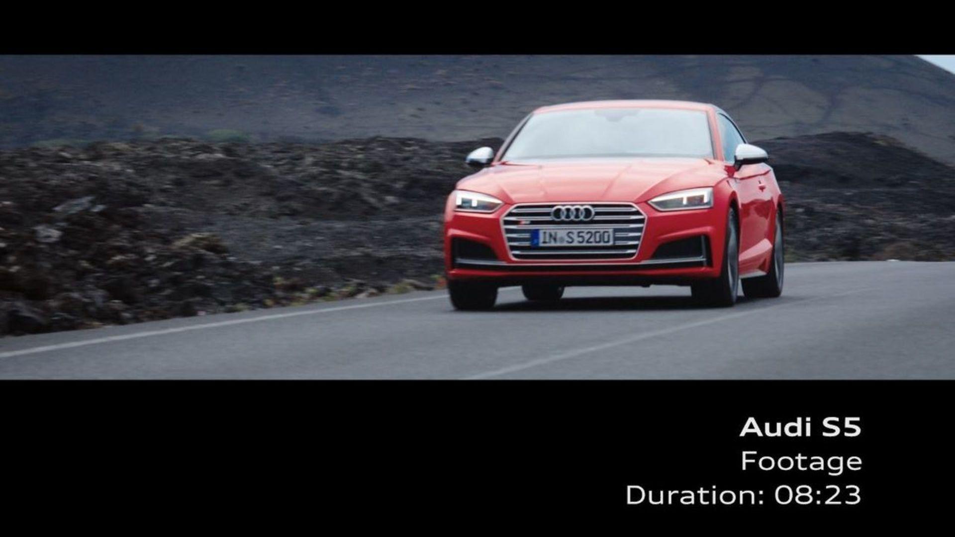 Audi S5 Coupé – Footage