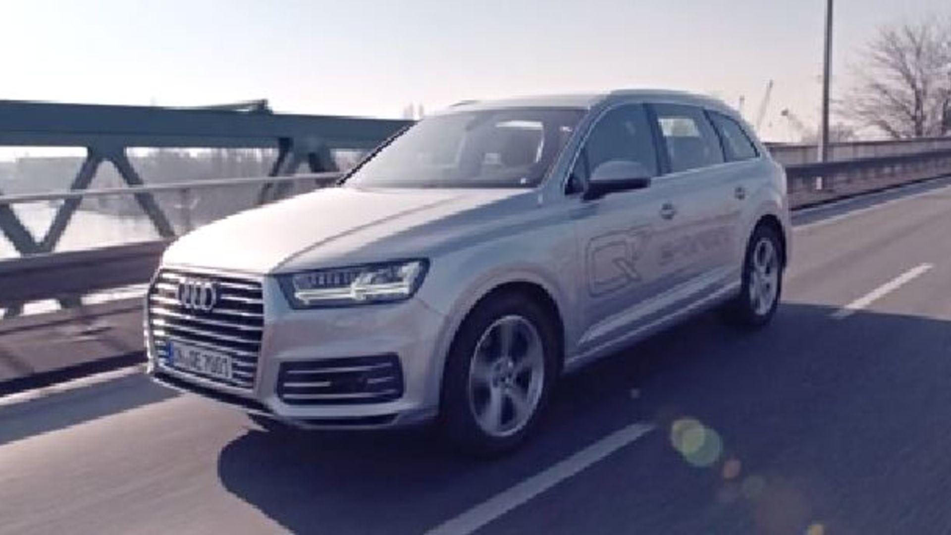 Der Audi Q7 e-tron quattro - Trailer