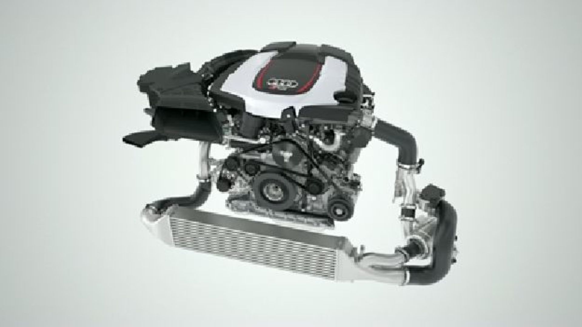 Audi V6 TDI Biturbo with electrically driven compressor