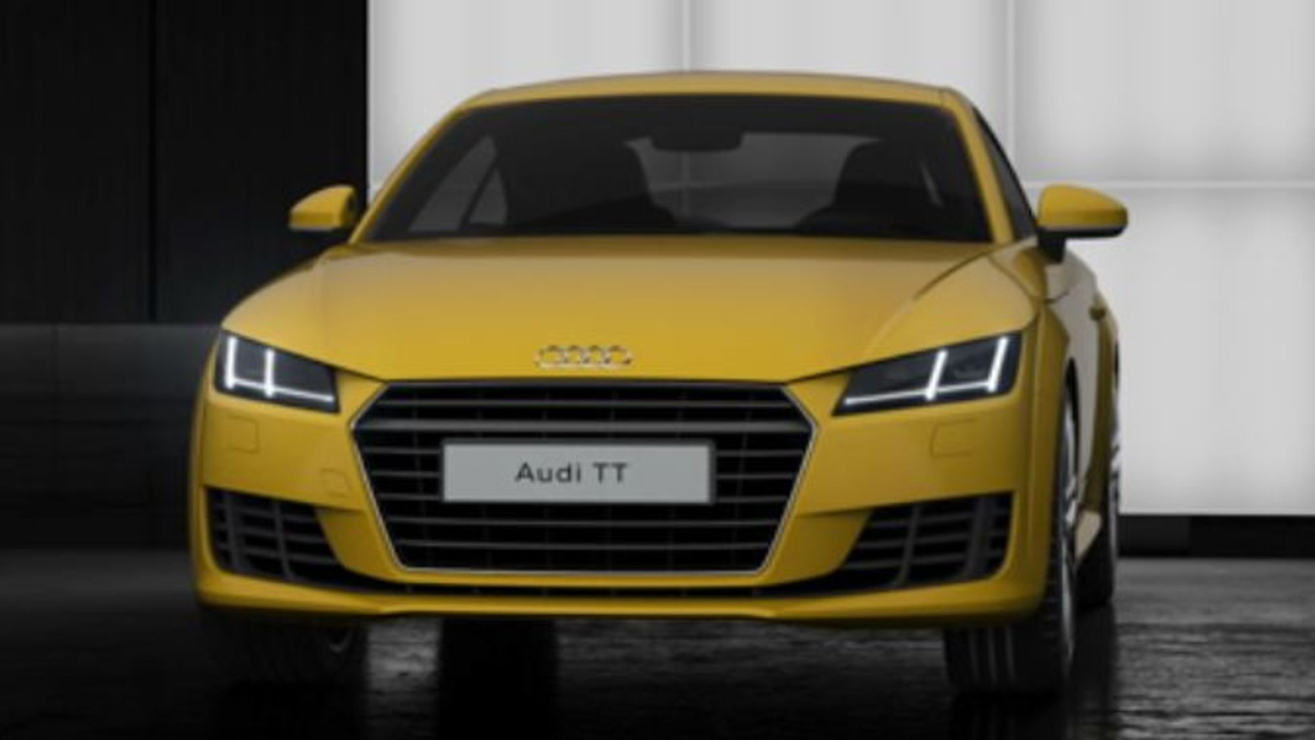Signature Audi daytime running lights - Animation