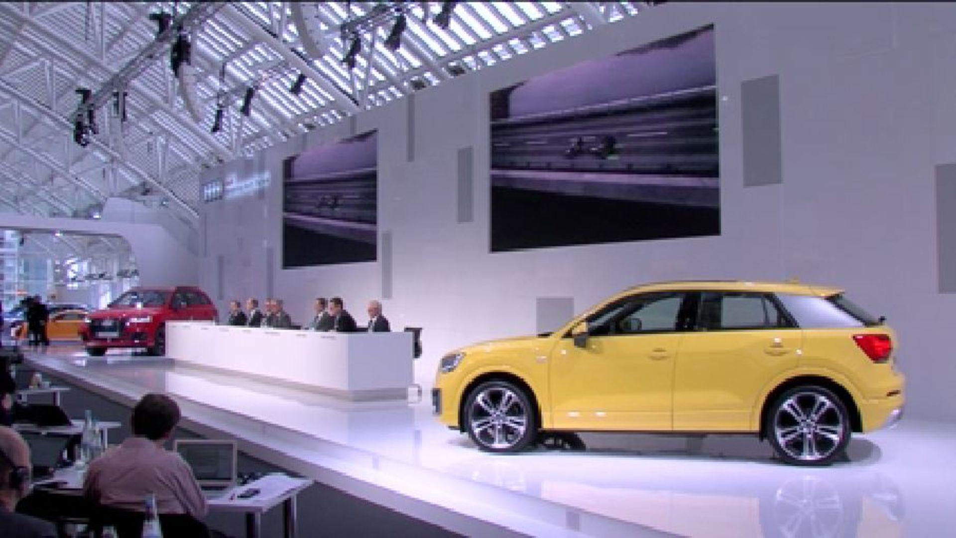 Die Audi Jahrespressekonferenz in voller Länge