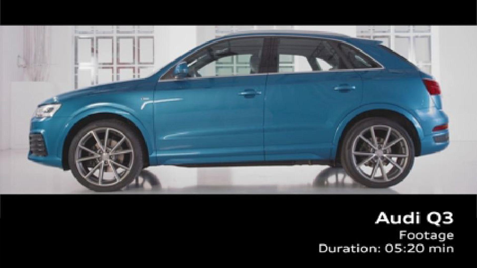 Der neue Audi Q3 - Footage