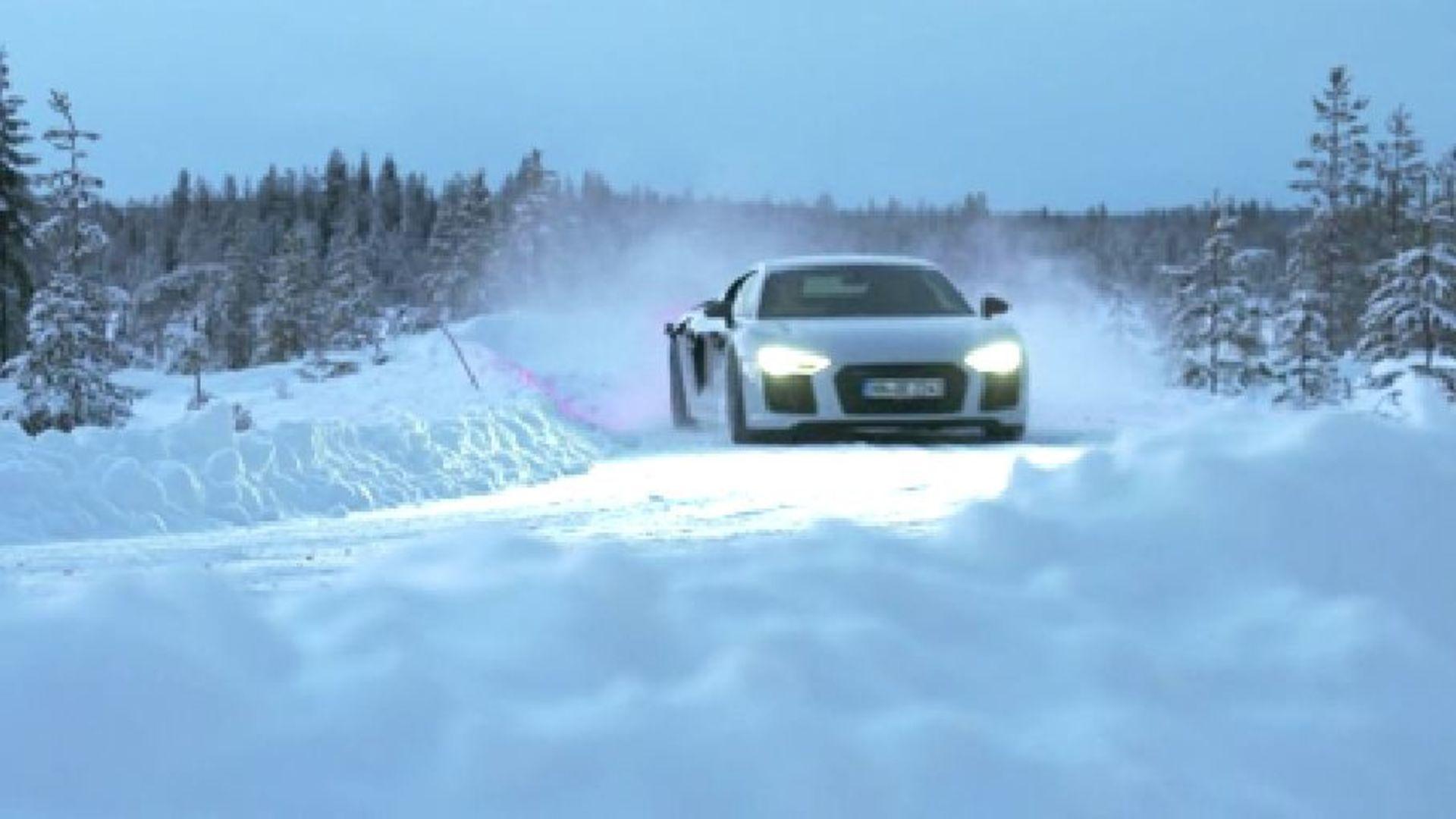 Audi quattro story part 3 – The quattro on ice and snow