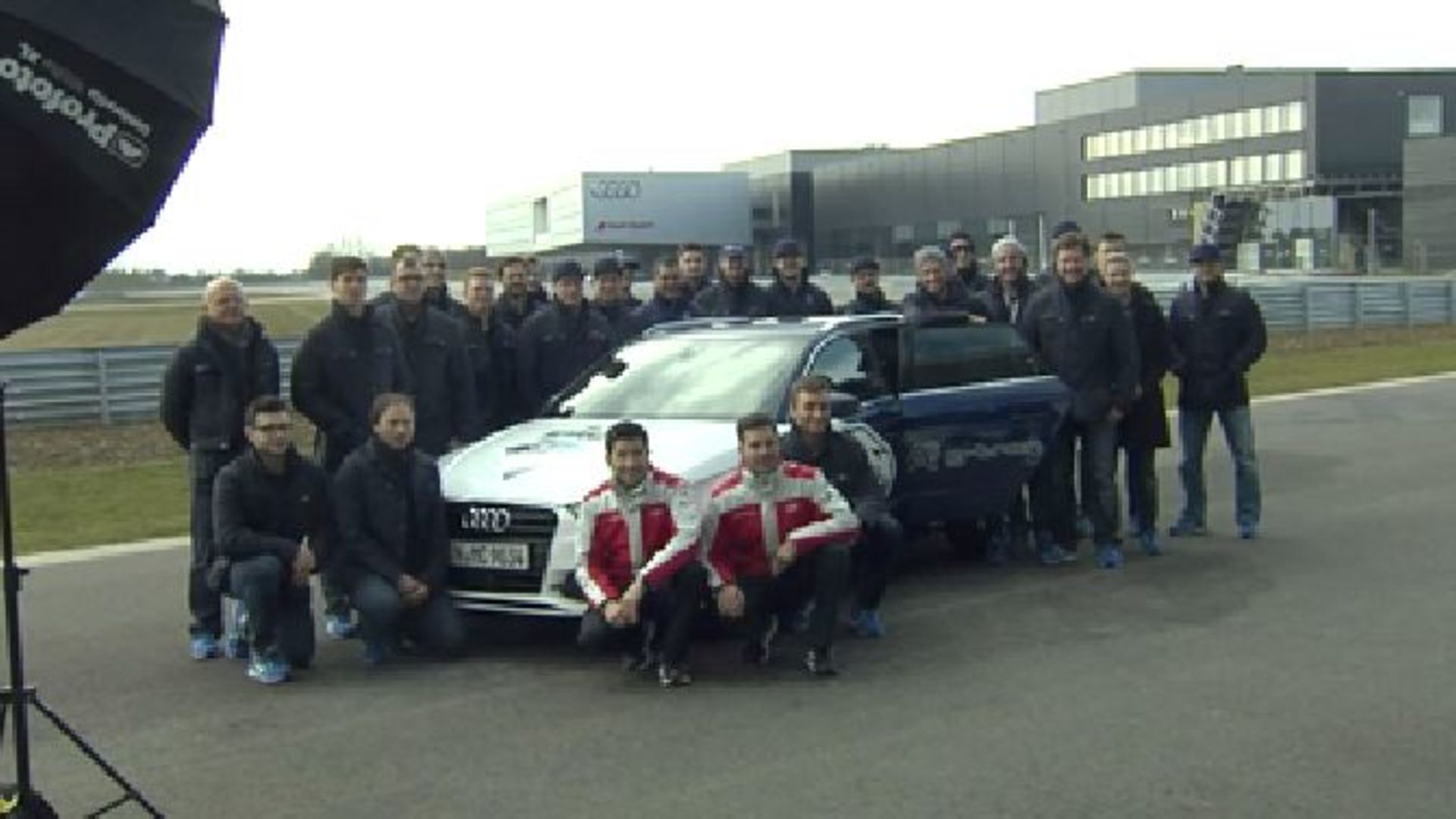 """Panther"" meets DTM-Stars at Audi in Neuburg"