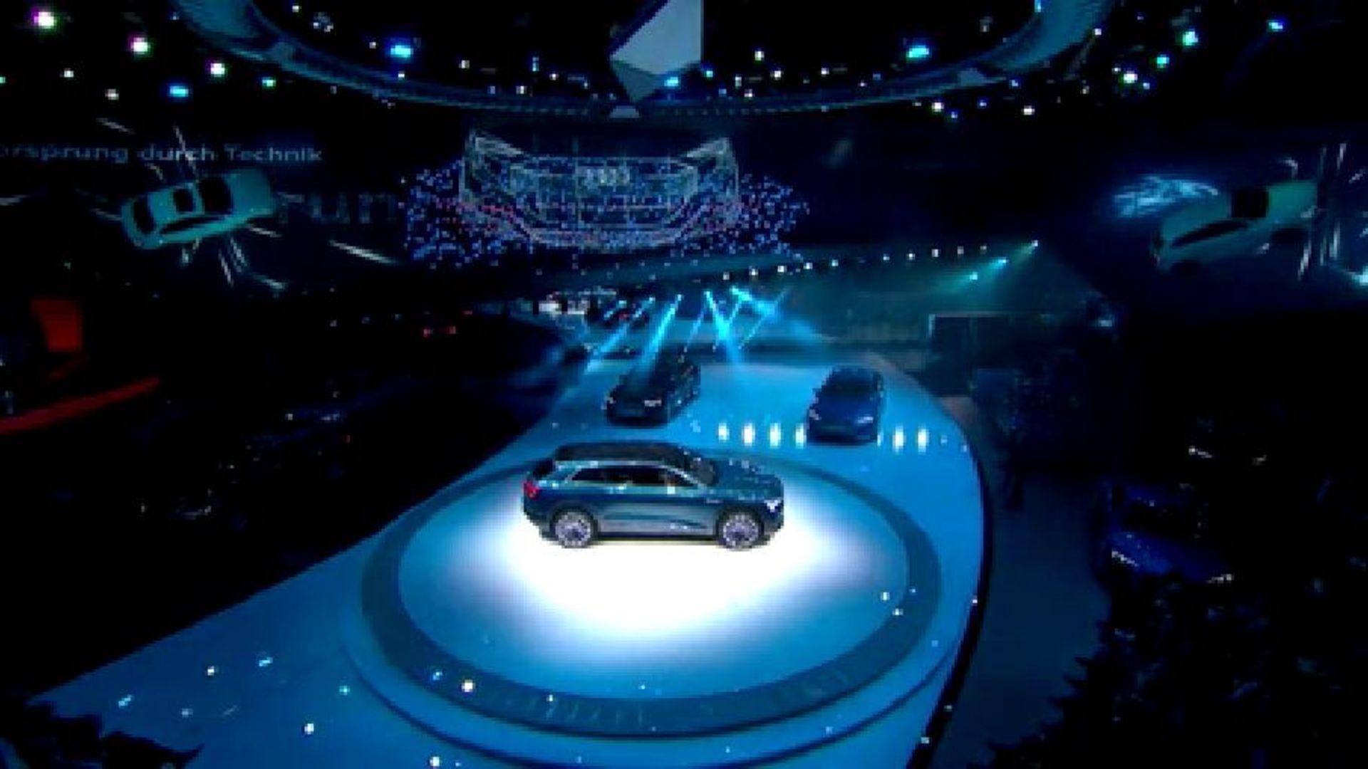 Audi-Pressekonferenz auf der IAA 2015