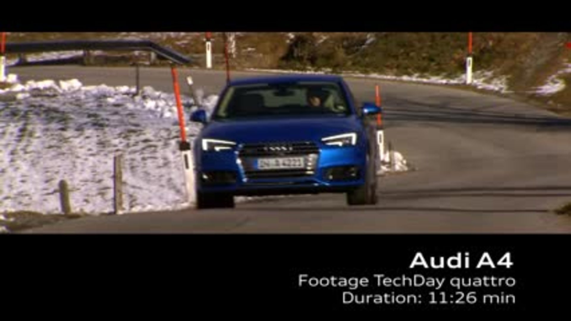 quattro with ultra technology - Footage
