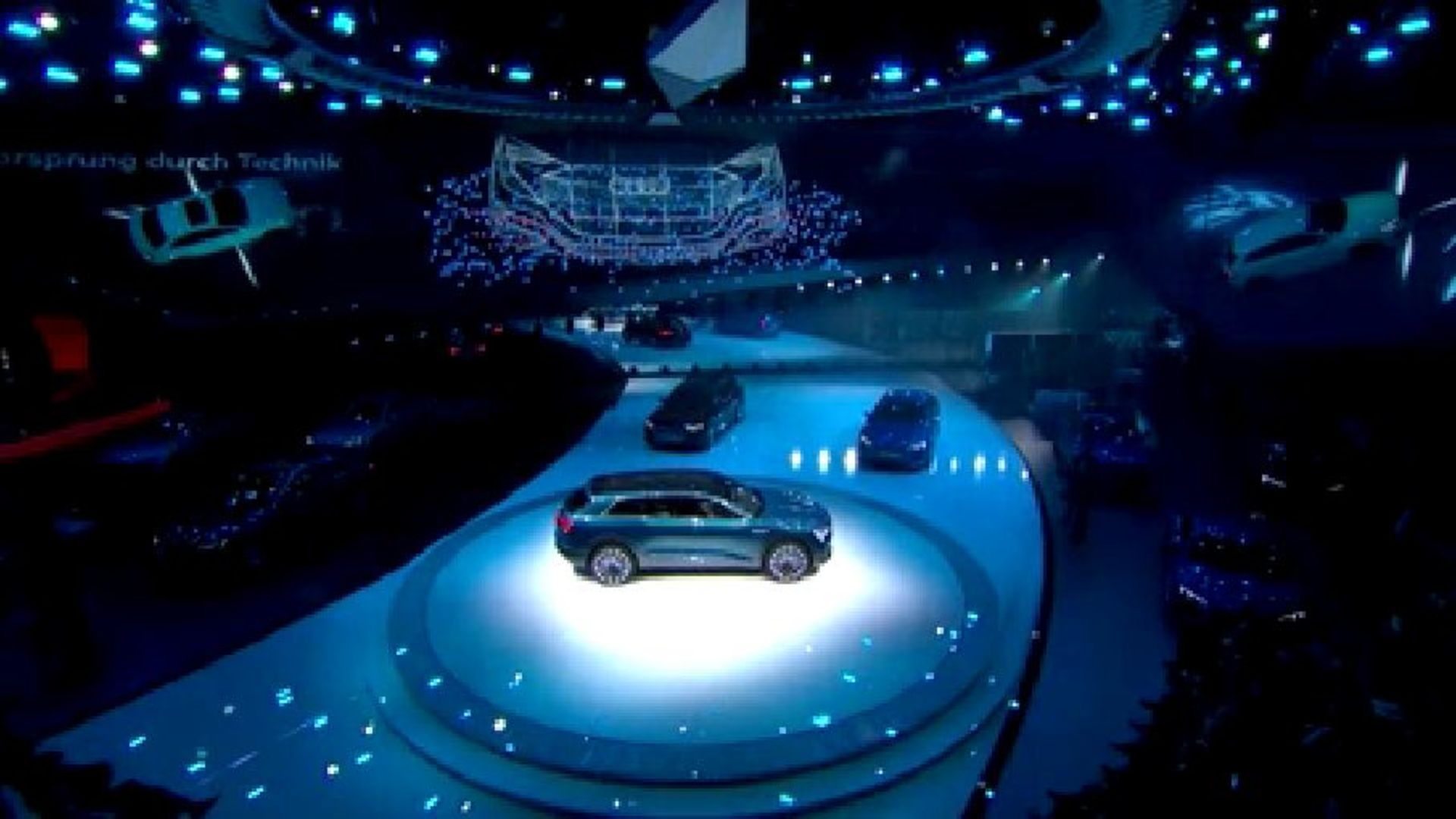 Audi press conference at the IAA 2015