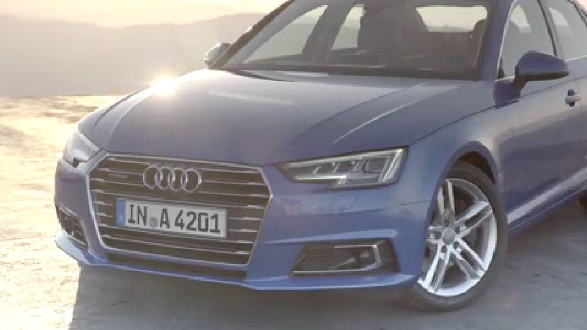 Audi A4 Emotion Trailer - Extended