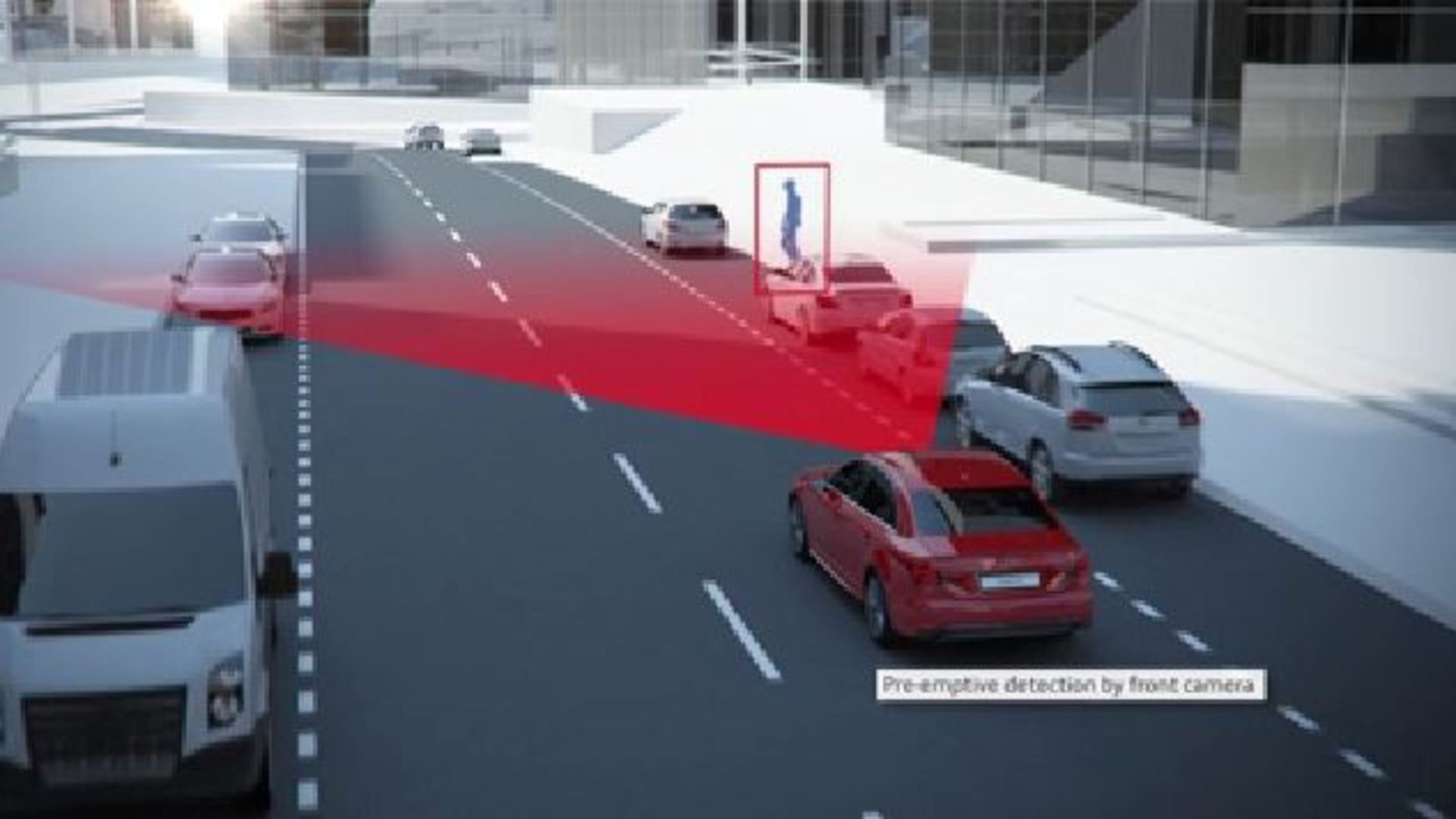 Audi A4 - Animation pre sense city