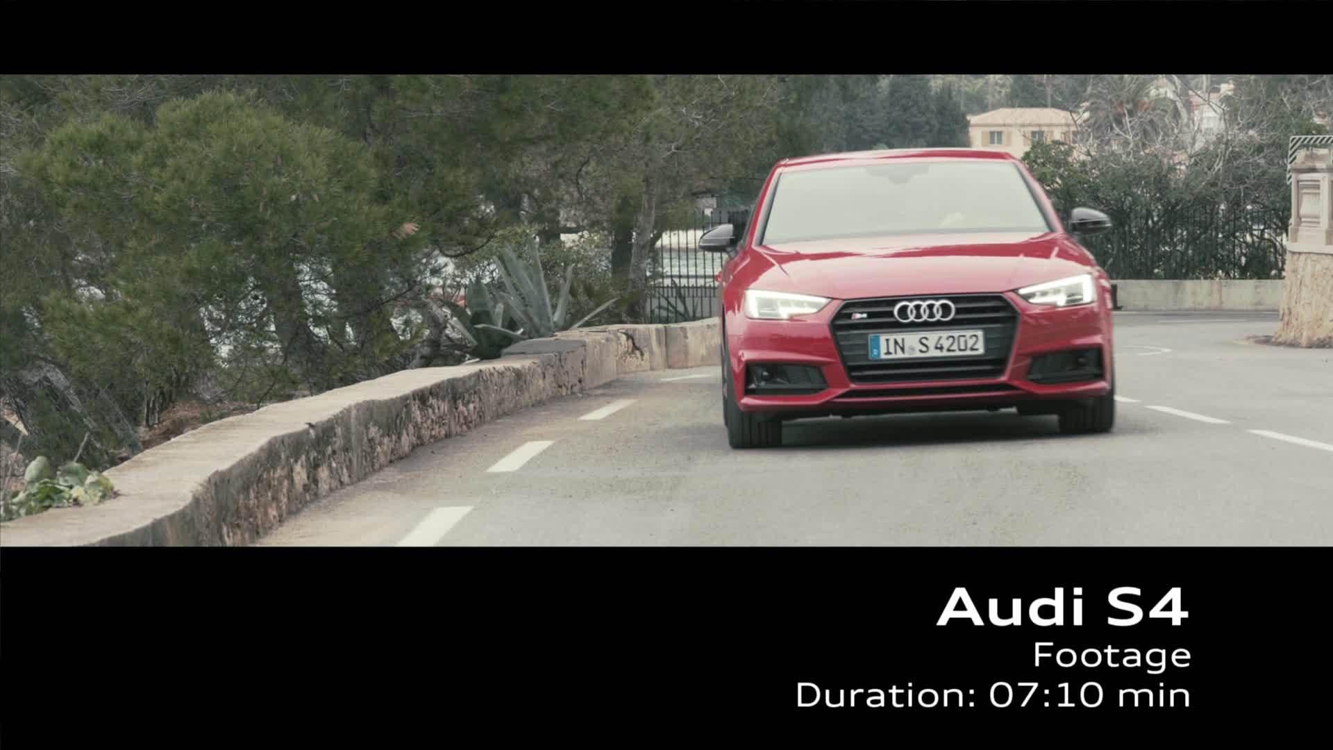 Audi S4 Limousine - Footage