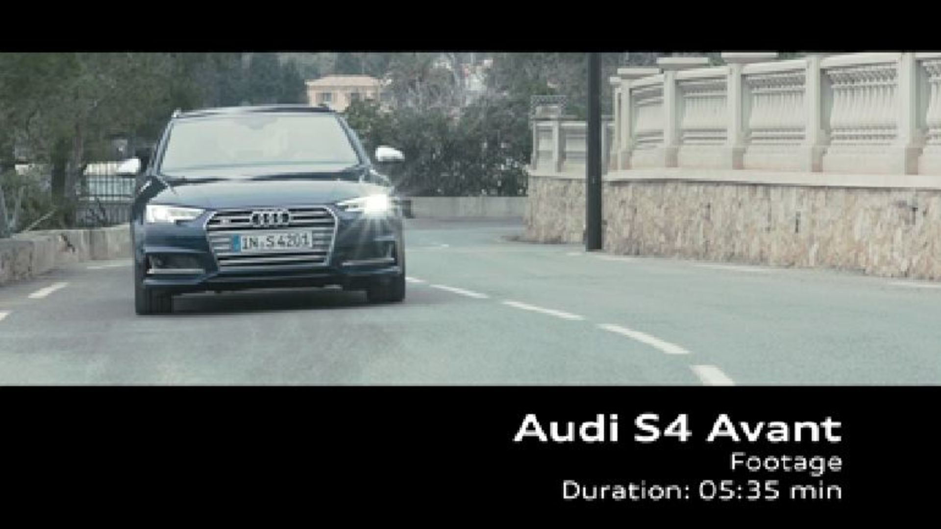 Audi S4 Avant - Footage