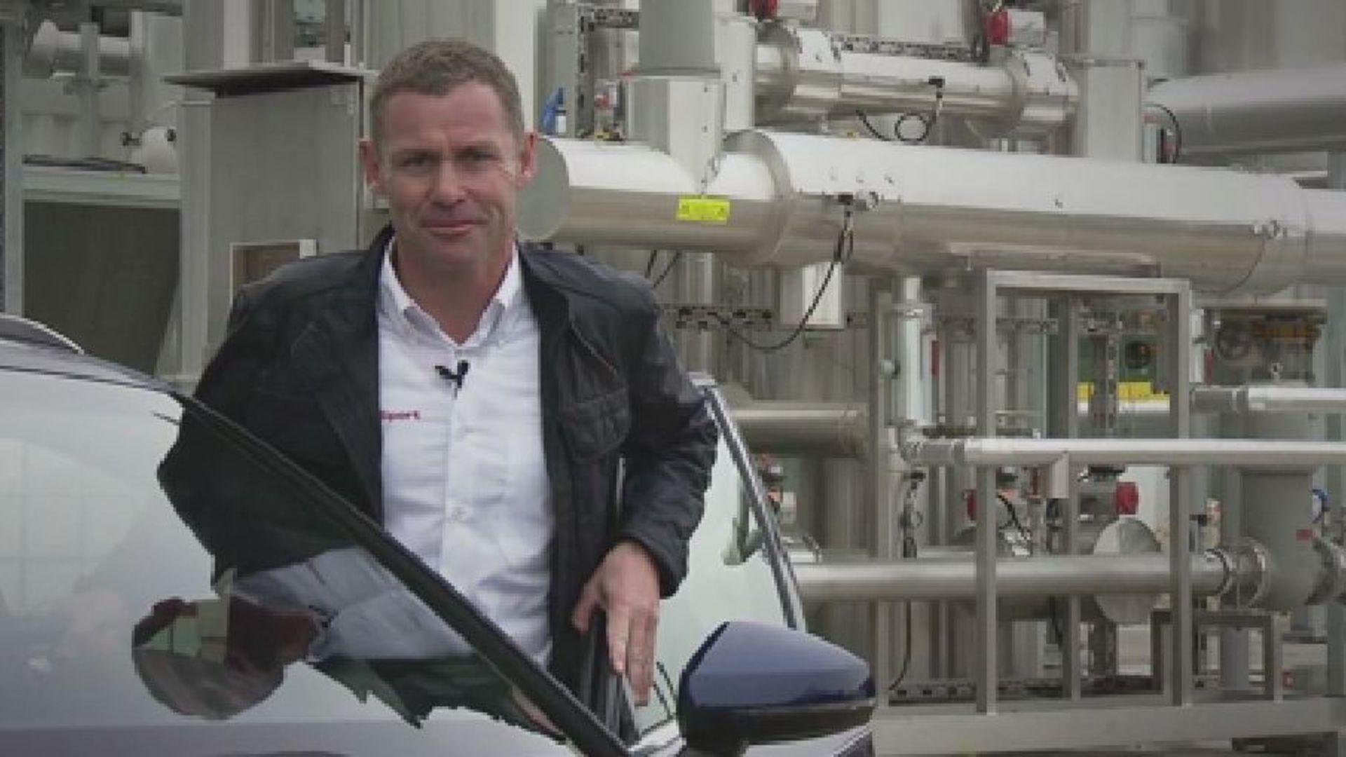 Audi e-gas Anlage - erklärt von Audi Rennlegende Tom Kristensen