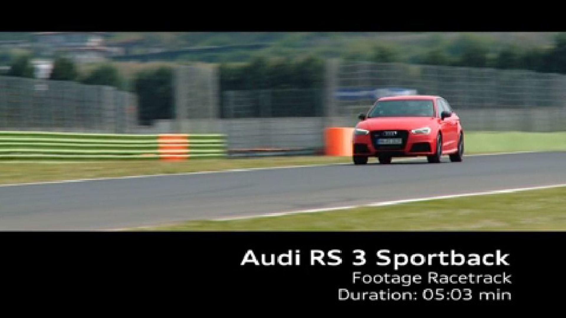 Der Audi RS 3 Sportback - Footage Rennstrecke