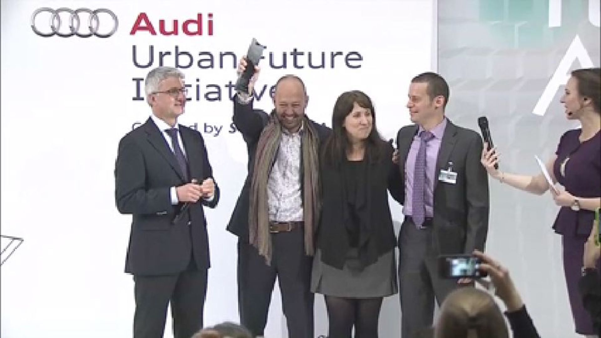 Audi Urban Future Award - The Award Ceremony