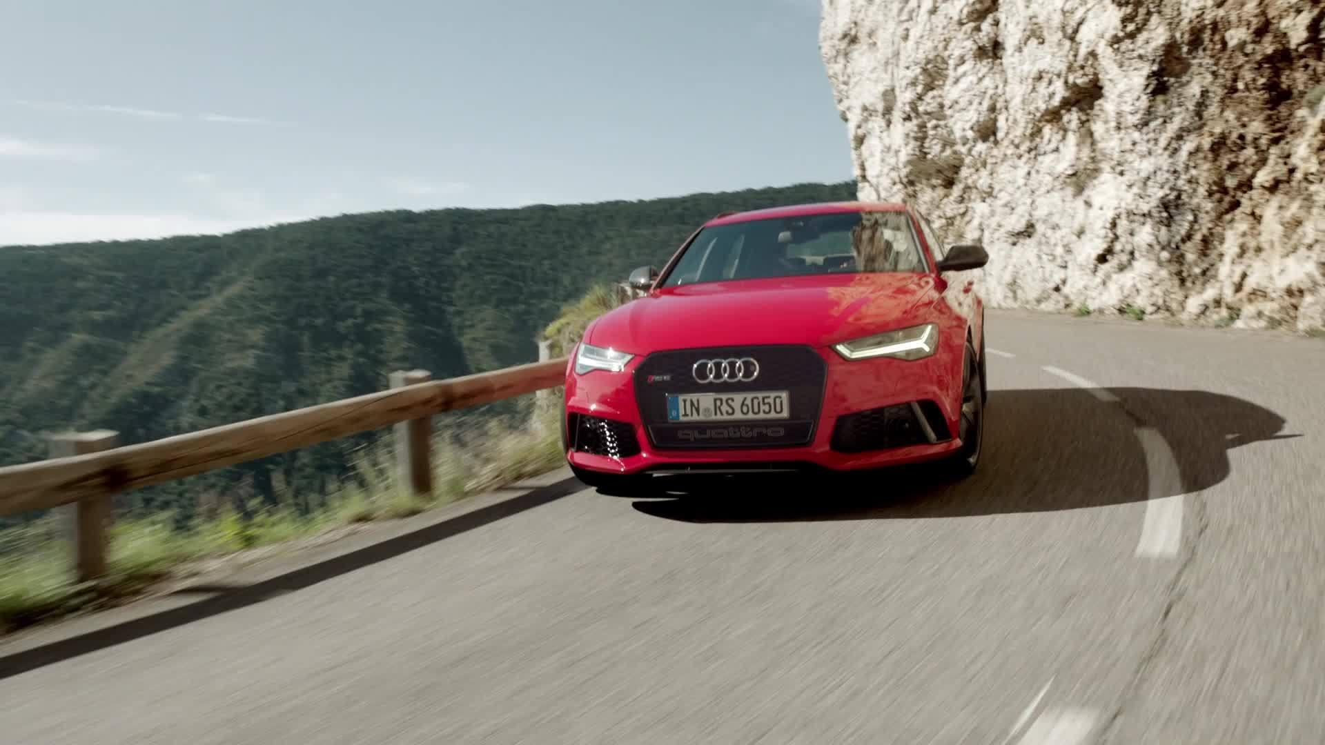 Audi RS 6 Avant - Trailer