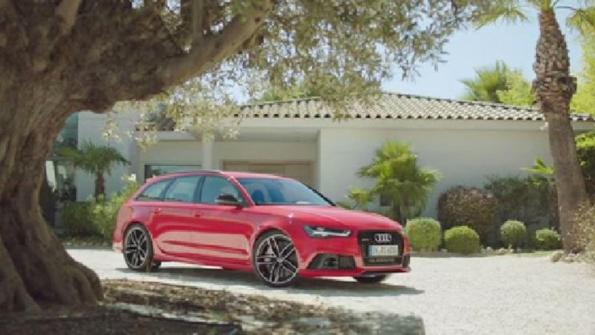 Der Audi RS 6 Avant - Footage