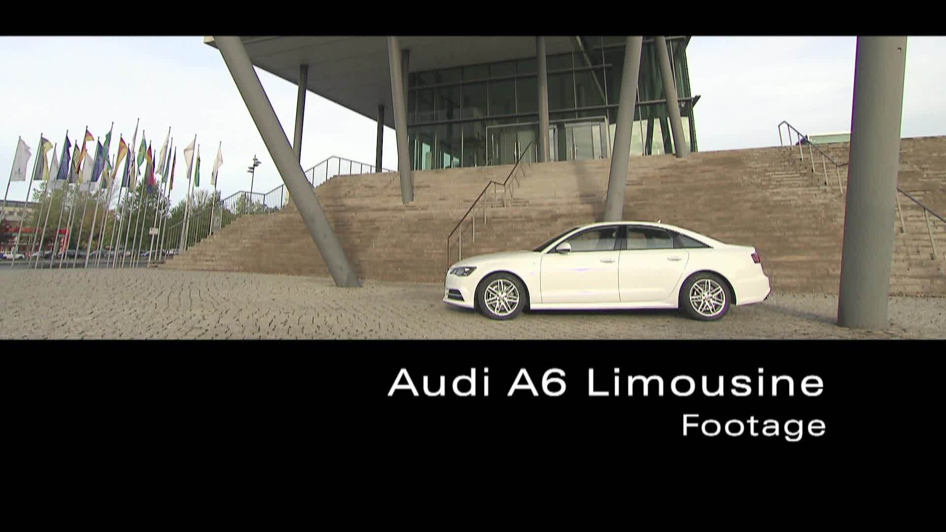 Die A6 Limousine - Footage