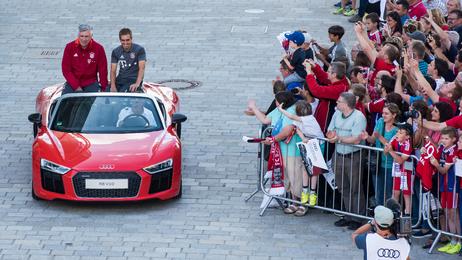 New Audi models for FC Bayern