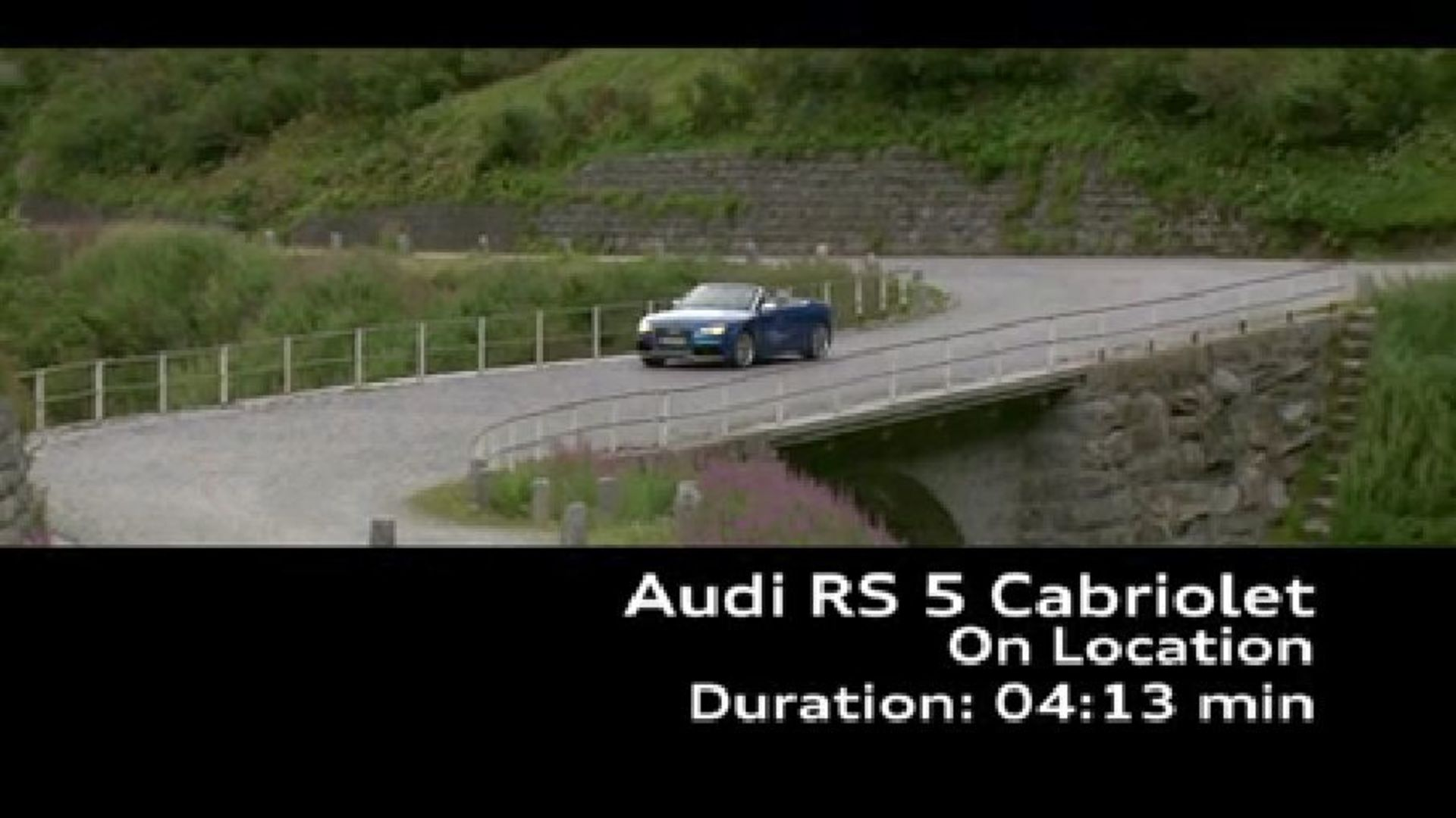 Das Audi RS 5 Cabriolet Footage - Land of quattro Alpen Tour