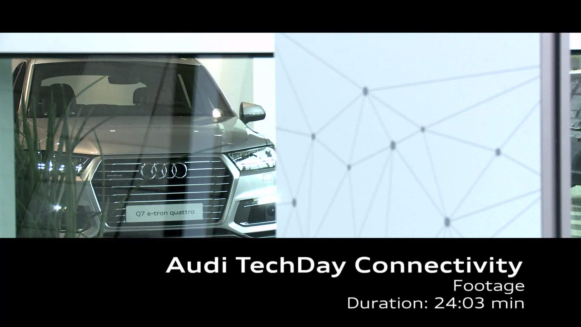 Audi TechDay Connectivity - Footage