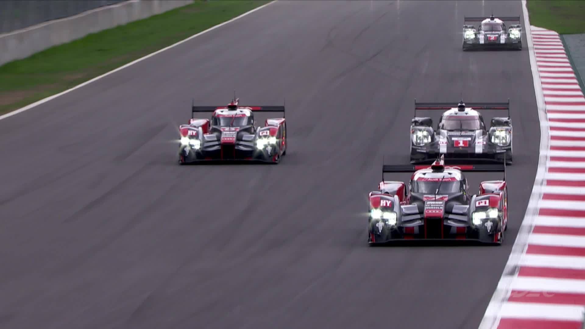 Audi WEC Mexico City – Footage