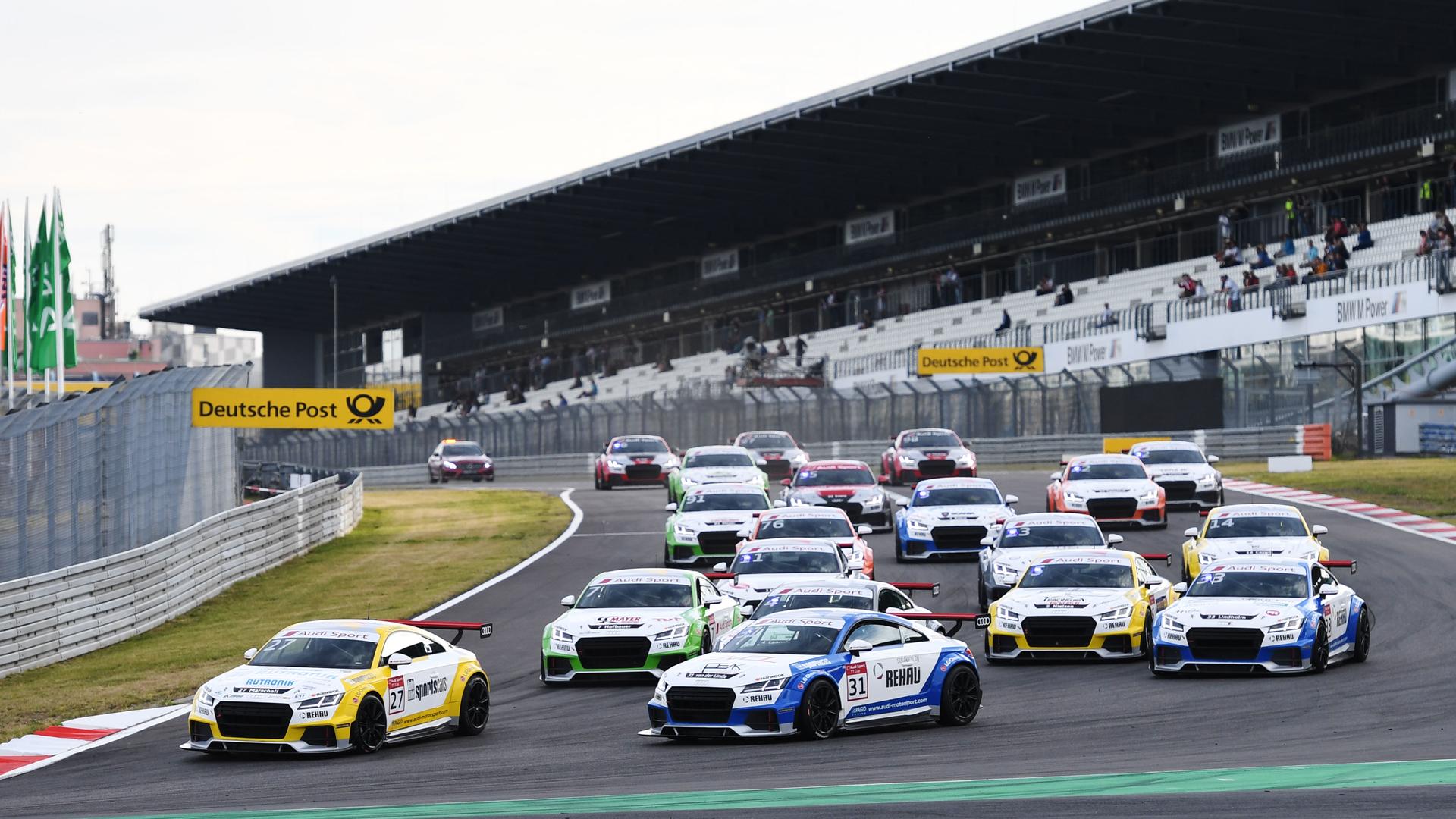 Audi Sport TT Cup: Doppelsieg für Lappalainen