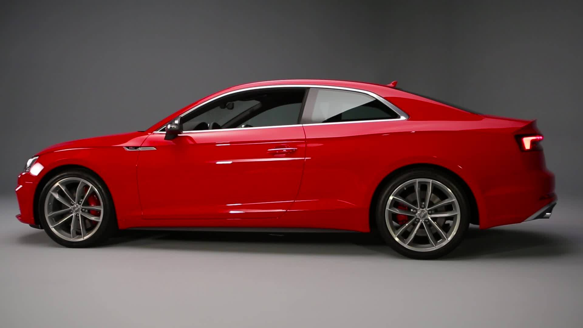 Audi A5 Coupé - New design highlight from Ingolstadt