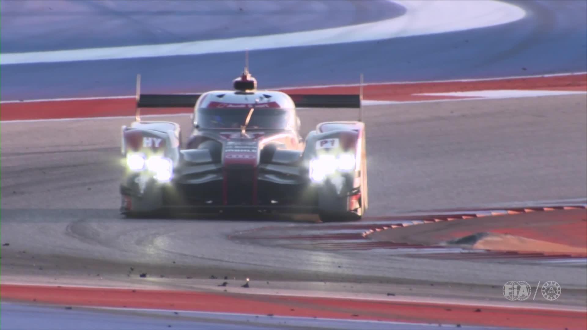 Audi WEC Austin 2016 – Footage