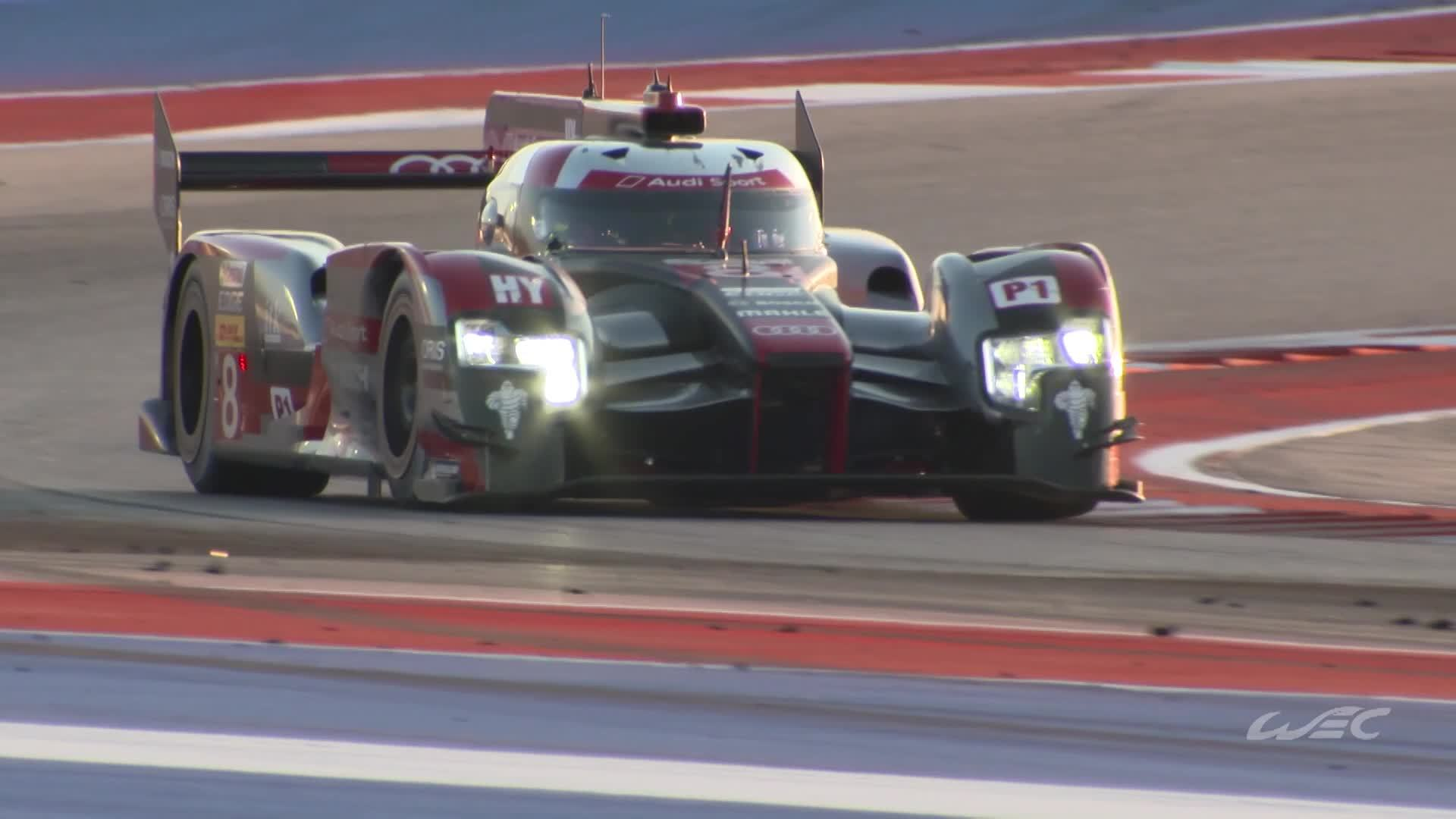 WEC Austin: Platz zwei für Audi