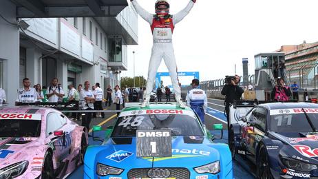 Edoardo Mortara siegt beim 50. Gastspiel der DTM am Nürburgring