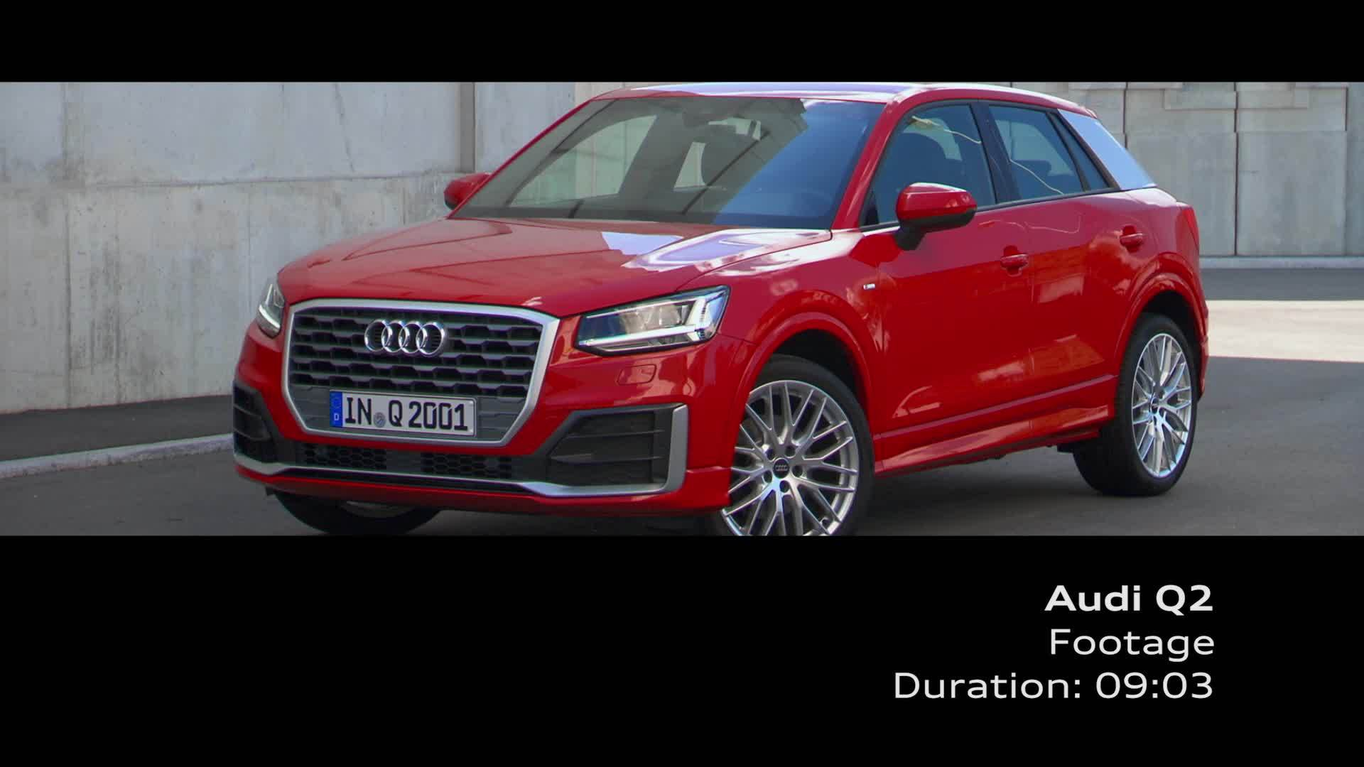 Audi Q2 - Footage on Location, Tango Red