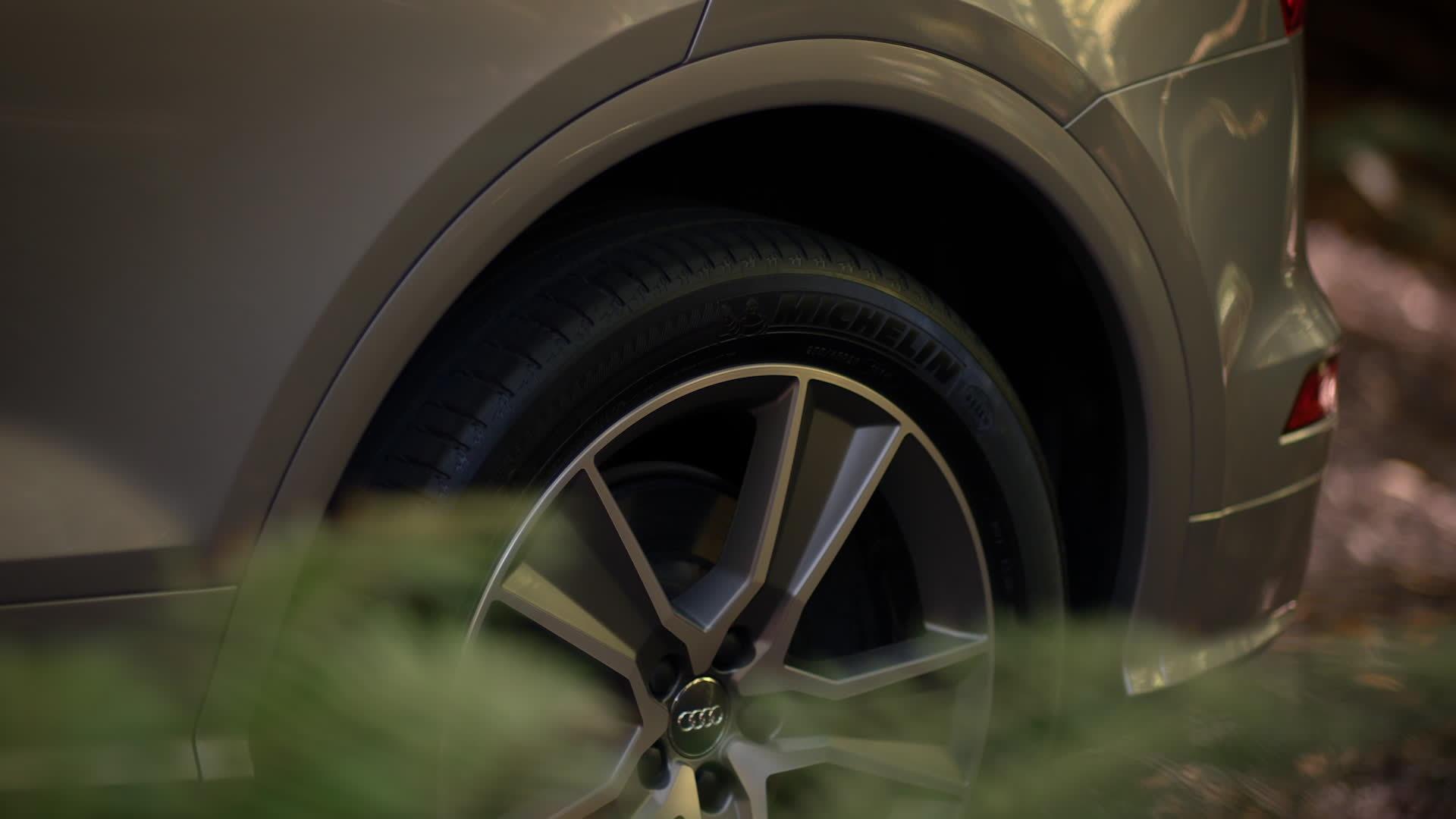 Audi Q5 with air suspension