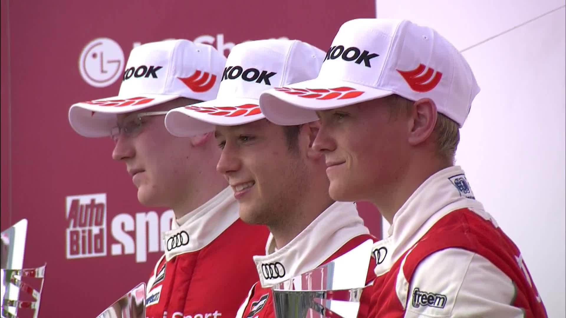 Audi Sport TT Cup Budapest - perfektes Wochenende für Dennis Marschall