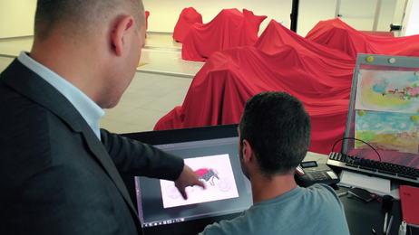 Zu Besuch im Ducati Design Center