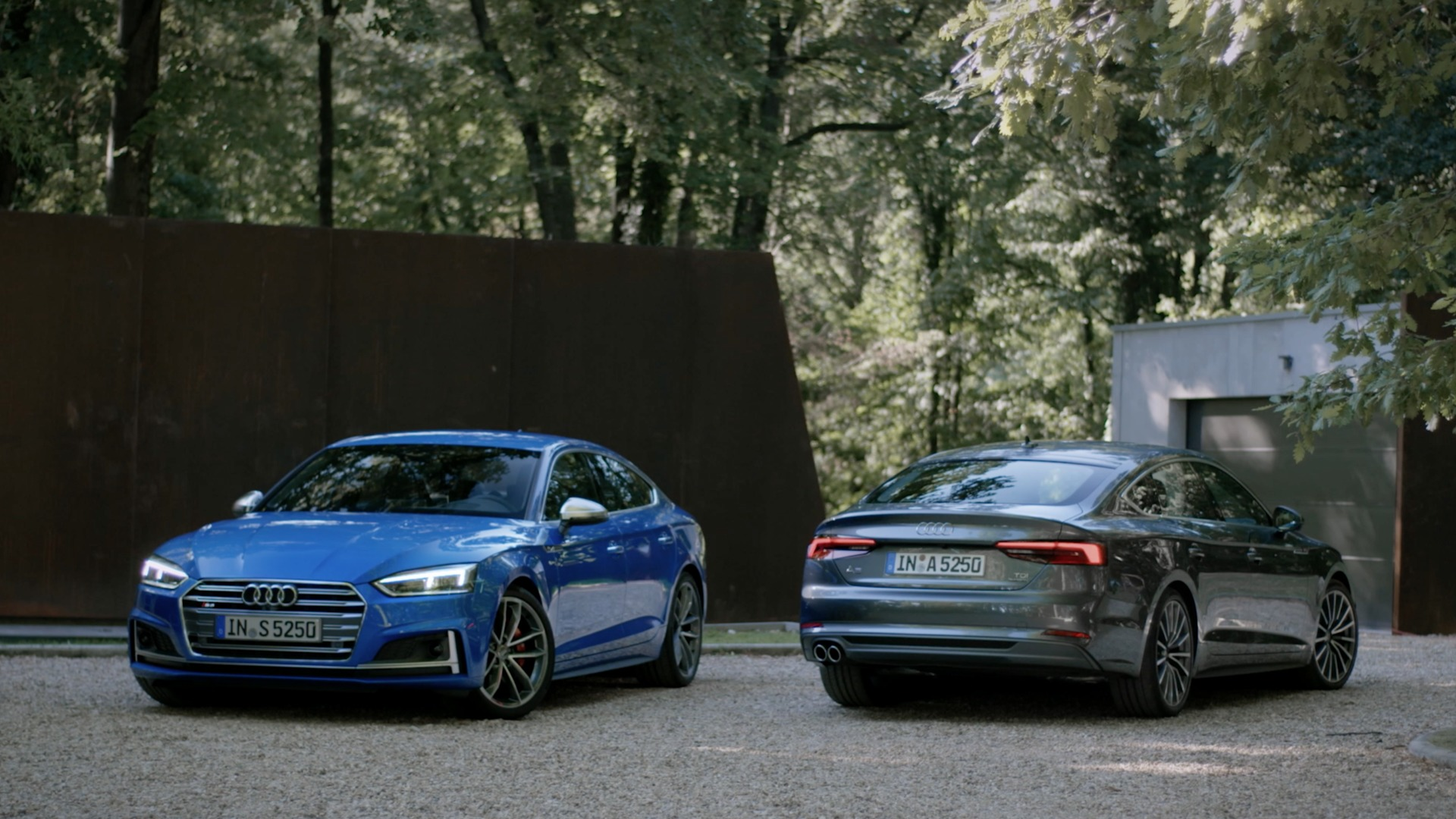 The new Audi A5 and S5 Sportback - Trailer