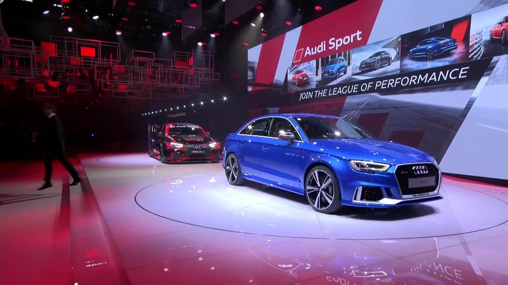 Best of Audi Sport at the Paris Motor Show
