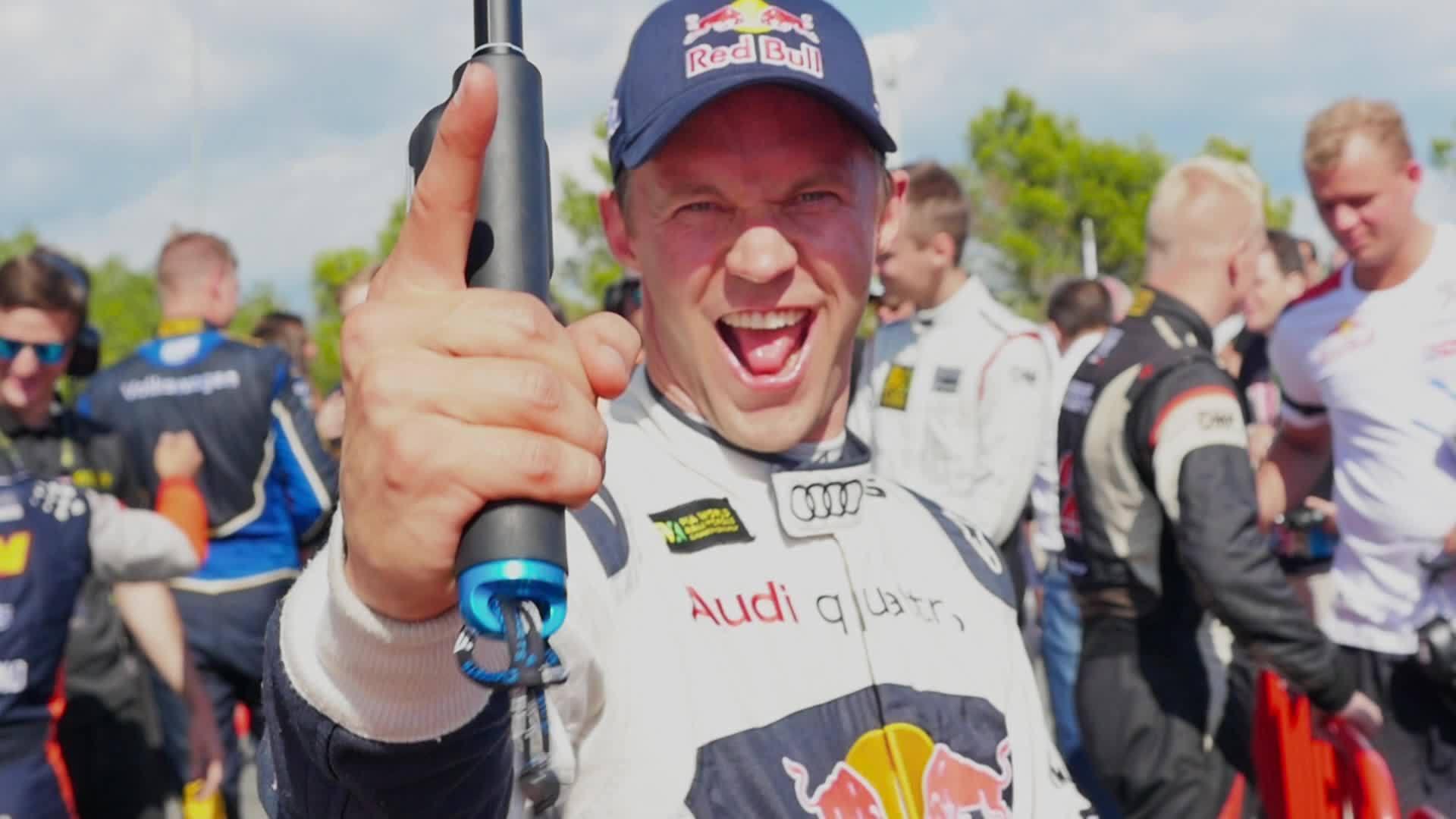 FIA Rallycross Barcelona - Ekström übernimmt wieder die Führung