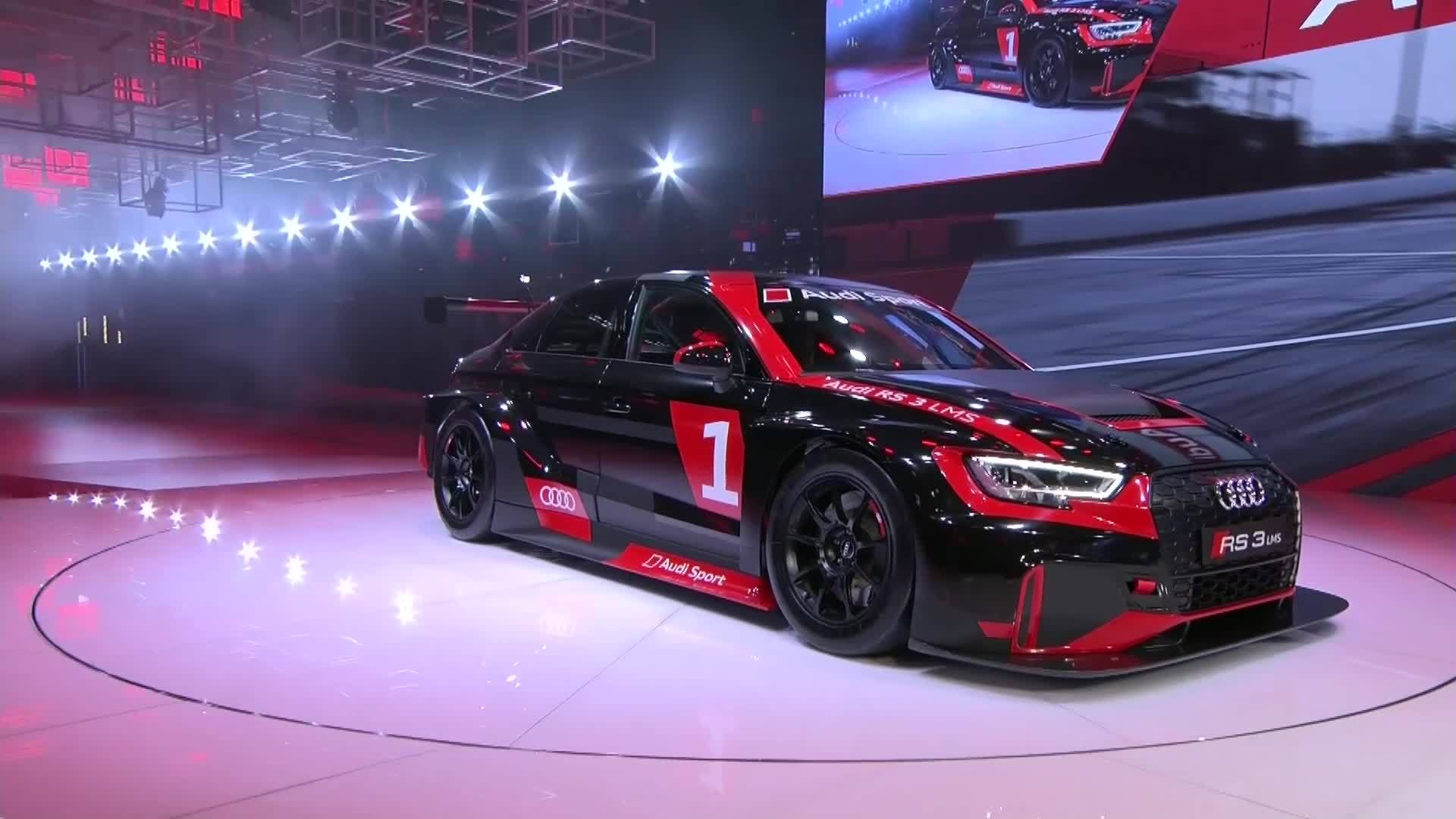 Best of Audi Sport bei der Paris Motor Show