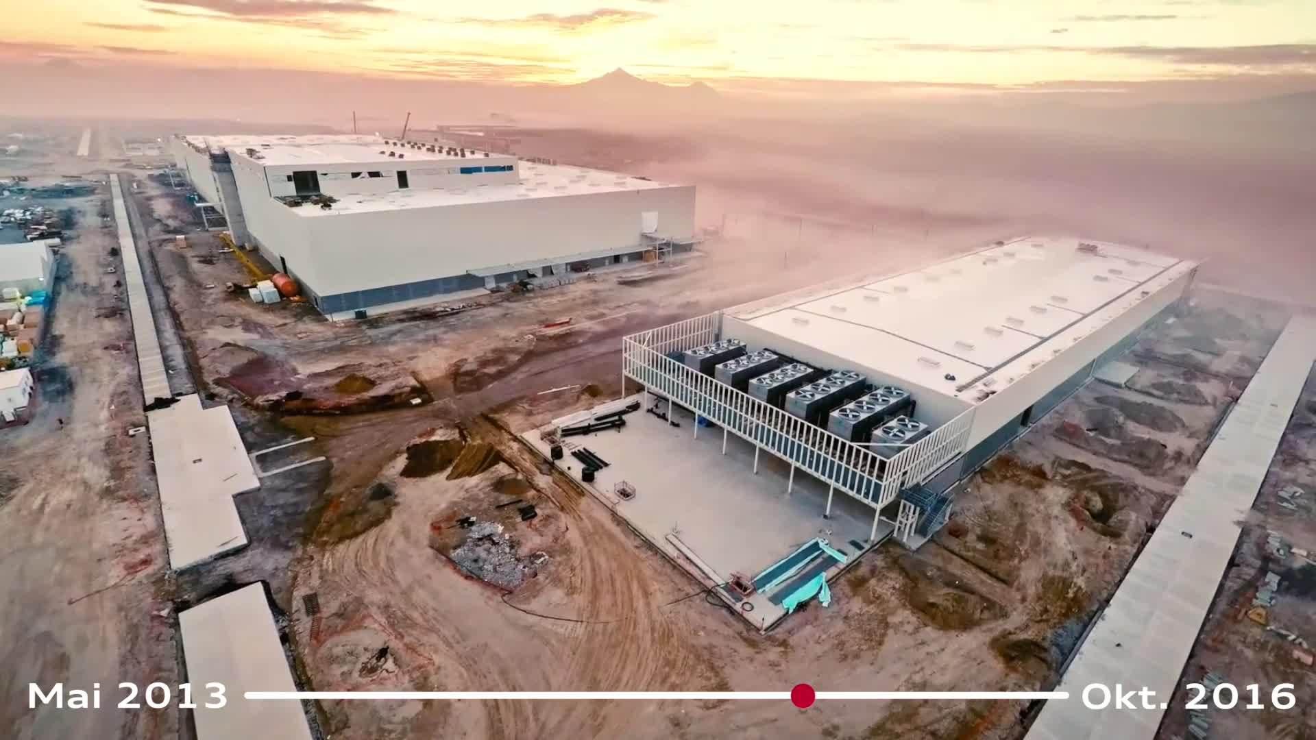 Die Entstehung des neuen Audi-Werks in Mexiko