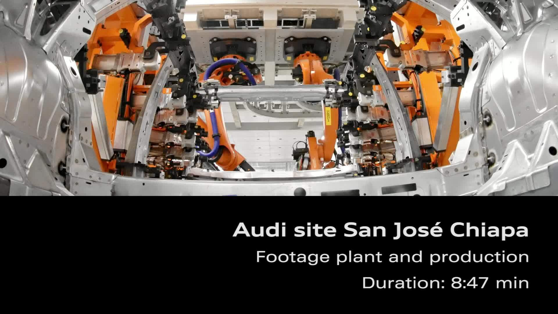 Audi site Mexico – Footage