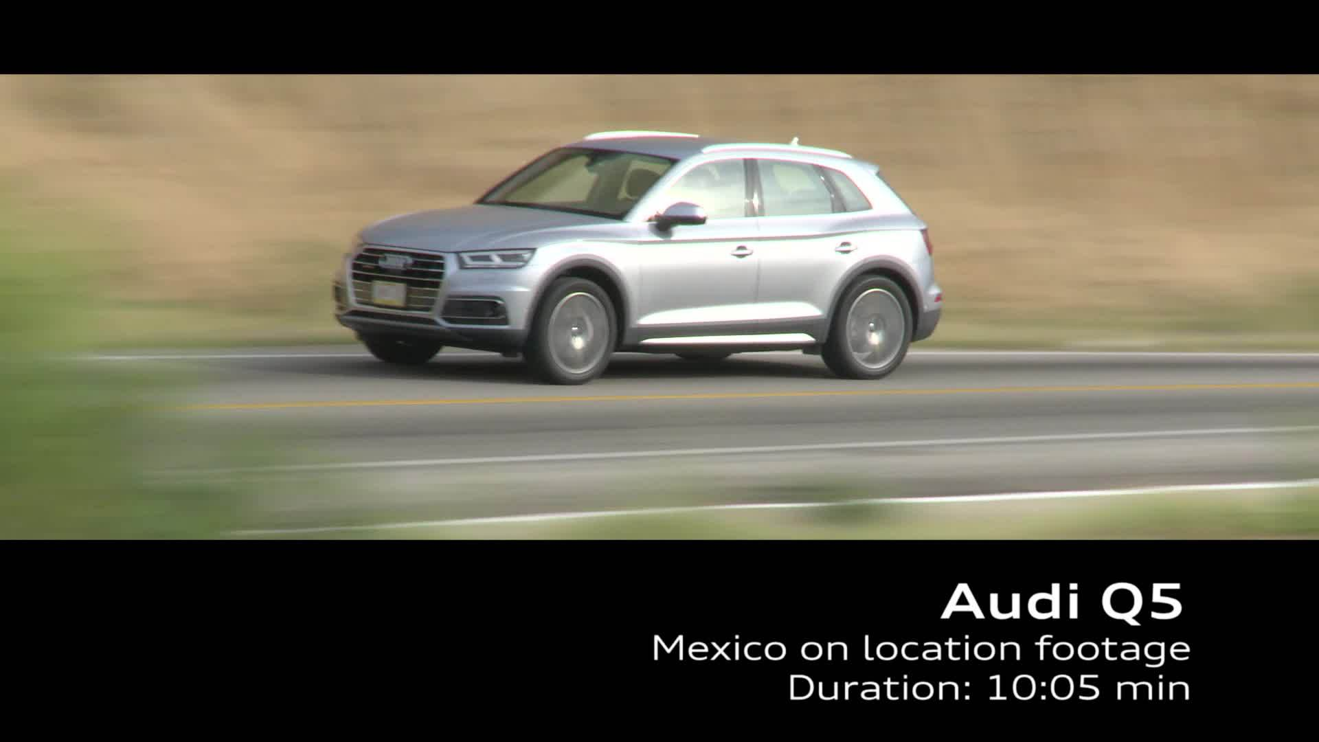Audi Q5 on Location Footage TDI