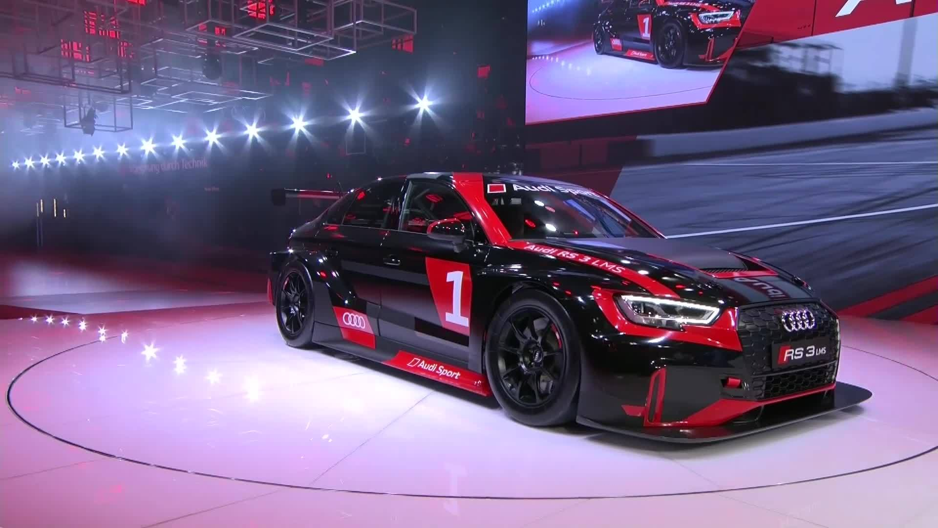 Best of Audi Sport at the Paris Motor Show